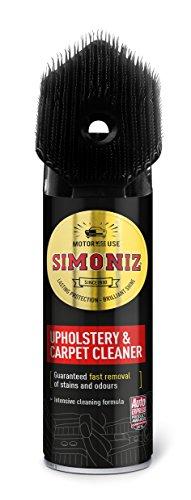 Simoniz SAPP0084A Upholstery Cleaner with Brush, 400 ml