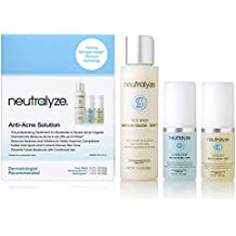 Neutralyze Moderate To Severe Acne Treatment Kit (30 Day) - Maximum Strength 3-Step Anti Acne Medication With Salicylic Acid + Mandelic Acid + Nitrogen Boost Skincare Technology