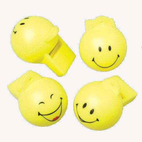DollarItemDirect Emoji Whistles , Sold by 20 Dozens