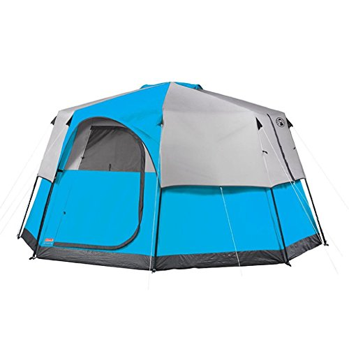 Price comparison product image Weather System Octagon Big Tall Tent (13' x 13') - Set Up The Tent Quickly And Easily Thanks To Color-Coded Pole Attachments And Place The Included Doormat