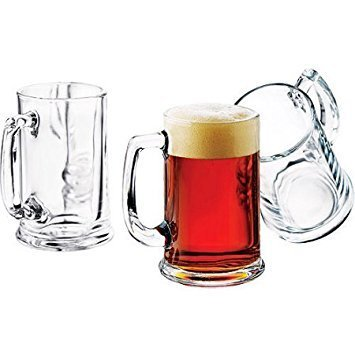 (Libbey 16-oz. Brewmaster Beer Mugs, Set of)
