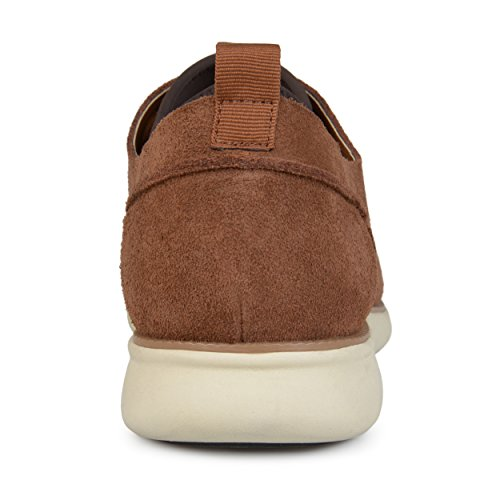 Suede Genuine Casual Mens up Brown Luther Sole Territory Shoes Lace Comfort S8x4wSBq