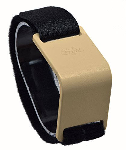 M BRACE RCA - HEAVY DUTY - Carpal Tunnel Treatment Wrist Support (Regular, Two-Tone: Beige Brace with Black - Tone Strap Double