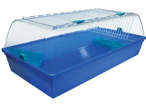 Large Plastic Guinea Pig / Rabbit Cage - UK, 101 x 51 x 22 cm