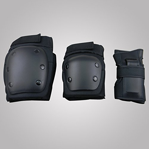 HOUTBY 6pcs Unisex Children Protective Gear Set Elbow Knee Pads Protector Equipment for Riding Bicycle