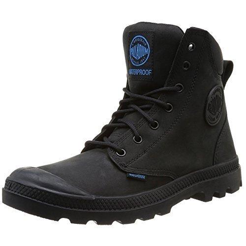 Palladium Pampa Cuff WP Lux Mens Waterproof Boot  Black  UK 10  APCRJLYQE