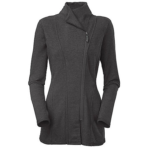e13e7c6a2 THE NORTH FACE - Women's Wrap-Ture Tunic - Charcoal Grey Heather-62X ...