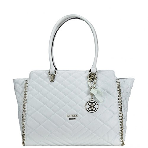 Guess Lucie borsa tote 38 cm Bianco