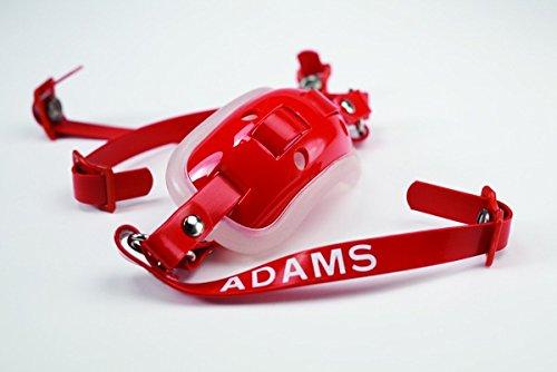 Adams Intermediate 4-Point High Hook Up Football Gel Chin Strap