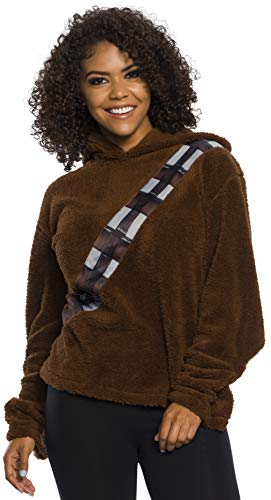 Rubie's Star Wars Classic Adult Chewbacca Hoodie, Small-Medium