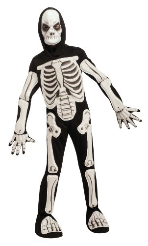 [Halloween Sensations Skeleton Costume, Medium] (Skeleton Halloween Costume Child)