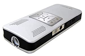 Aiptek PJV11X PocketCinema V10 Portable Projector (Silver)