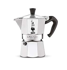 Bialetti moka express cafetera espresso para 3 tazas - Cafetera express amazon ...