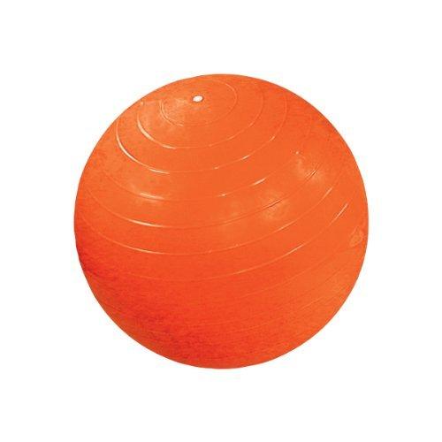 激安人気新品 Cando 30-1807 Weight [並行輸入品] Orange Non-Slip Exercise PVC Vinyl Inflatable Exercise Ball,48