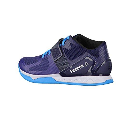 Reebok - Zapatillas de Material Sintético para Hombre, Color Blanco, Talla 41 EU