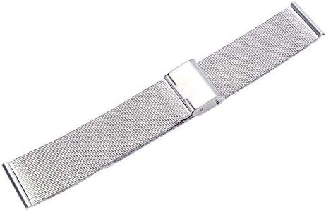 Xigeapg Correa de Reloj de Acero Inoxidable Especificación 22mm ...