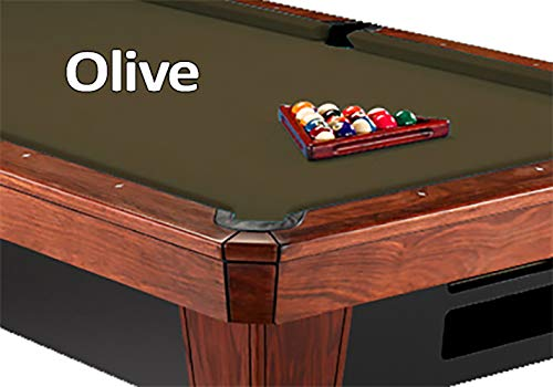 Simonis Olive Billiard Cloth- 9 Foot ()
