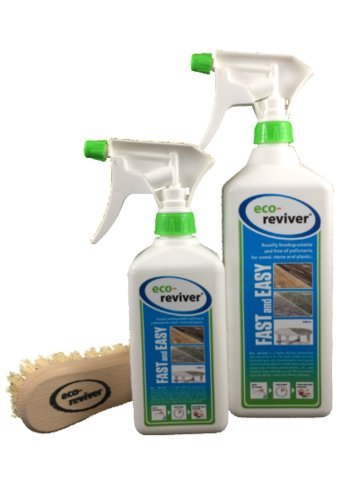 All-Purpose Non Toxic Cleaner - Eco Reviver - (2 Pack Special) - Wood Stone Plastic and Deck Cleaner: 48 oz total