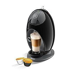 DeLonghi Nescafé Dolce Gusto Jovia Pod Capsule Coffee Machine, Espresso, Cappuccino, Latte and more,EDG250.B, Black best sellers [tag]