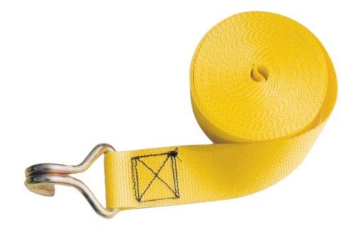 Erickson 53100 Yellow 2'' x 27' Winch Strap, 5000 lb Load Capacity by Erickson