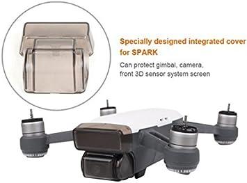 Opinión sobre Flycoo Protector del estabilizador para DJI Spark lentes y SISTEMA DE DETECCIÓN 3D Protector - Anti-collision Dustproof Waterproof Anti-scratch Gimbal Portector Cap