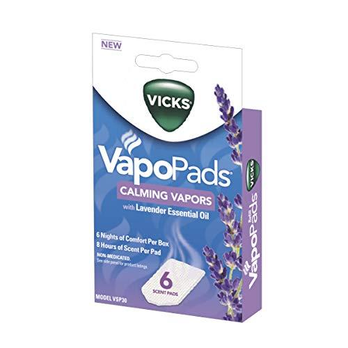 Vicks Calming Lavender Vapopad, 6 Count