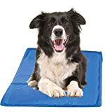 Hugs Pet Products Chillz Pad Comfort Cooling Gel Pet Pad, Blue, Large