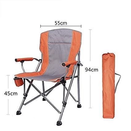 lwjgsaoutdoor plegable silla portátil silla de pesca silla ...