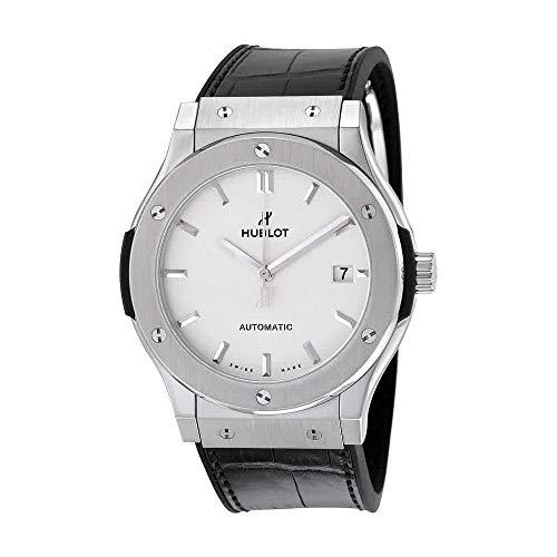 Hublot Classic Fusion Automatic Opaline Dial Titanium 45 MM Mens Watch 511.NX.2611.LR