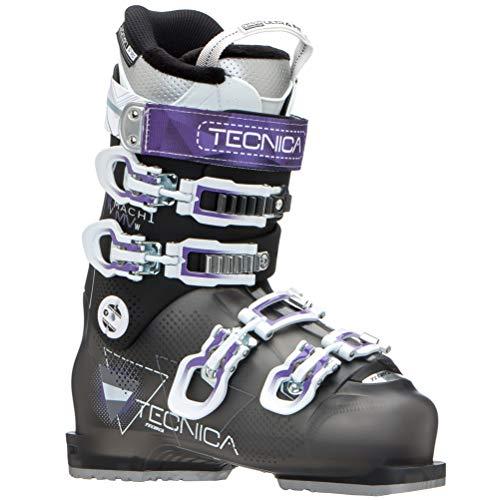 - Tecnica Mach 1 R W MV Womens Ski Boots - 24.5/Black-Purple