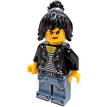 Amazoncom Lego Ninjago Movie Minfigure Nya In High School Outfit