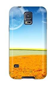 New Arrival Dreamy Flower World ITOXfCj6577NoHss Case Cover/ S5 Galaxy Case