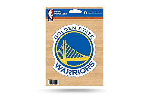 - NBA Golden State Warriors Die Cut Vinyl Decal