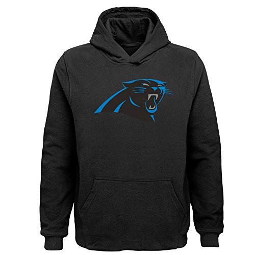 - NFL Carolina Panthers Toddler Primary Logo Sueded Classic Hoodie Black, 4T