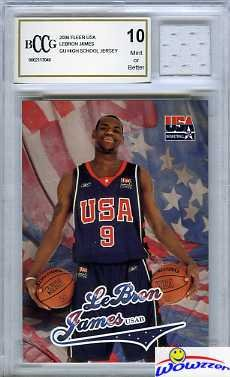 2003-04-fleer-usa-lebron-james-rookie-card-with-piece-of-authentic-lebron-james-game-used-high-schoo