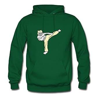 Kickboxer_mit_animeface Avengers America Green Sweatshirts Creative X-large For Women Designed