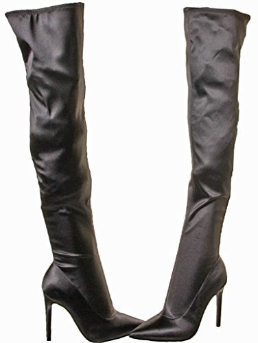 KENDALL + KYLIE Women's Anabel Over The Knee Boot, Black, 6.5 Medium US by KENDALL + KYLIE (Image #4)