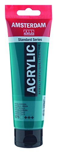 Amsterdam Standard Series Acrylic Paint Phthalo Green 120ml Tube