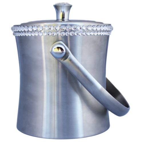 - OKSLO Rhinestone decorated ice bucket