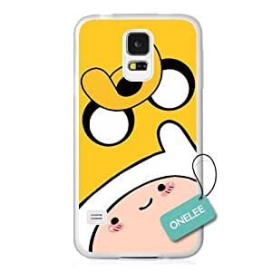 Adventure Time - Finn Face & Jake Face For Case Iphone 6 4.7inch Cover & Cover(Transparent cover) - Transparent 1