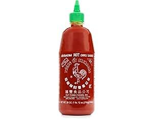 Huy Fong Hot Chili Sauce, Sriracha, 28 oz