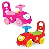 My First Ride Kids Push Along Car (Pink)