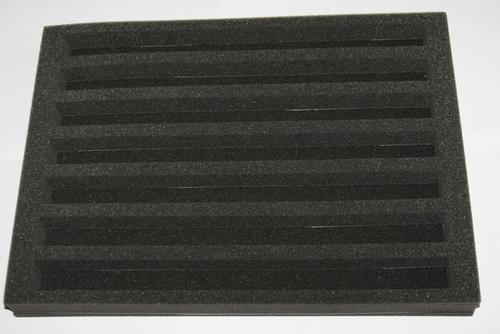 Avocations Ltd N Gauge Railway Foam Case Tray Insert - 360Mm X 265Mm X 35Mm
