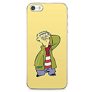 Loud Universe Ed Edd and Eddie iPhone 5 / 5s Case Eddie iPhone 5 / 5s Cover with Transparent Edges
