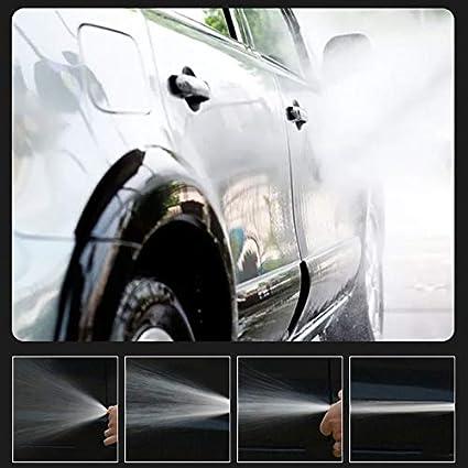 kangOnline Lavadora de autom/óviles Lavadora de Alta presi/ón Boquilla de pulverizaci/ón Kit de Herramientas para Limpieza de autom/óviles Lavado Boquilla Ajustable Aleaci/ón de Aluminio