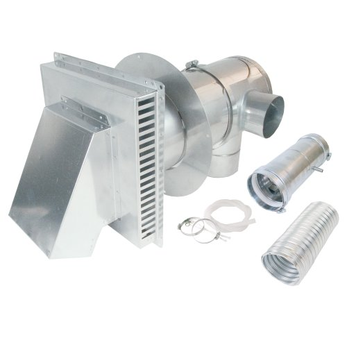AO Smith 9007849005 4-Inch to 7-Inch Direct Vent Conversion kit with Condensate Drain, Backflow Preventer and Concentric Termination by AO Smith