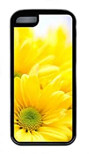 iPhone 5c case, Cute Sunflower 10 iPhone 5c Cover, iPhone 5c Cases, Soft Black iPhone 5c Covers