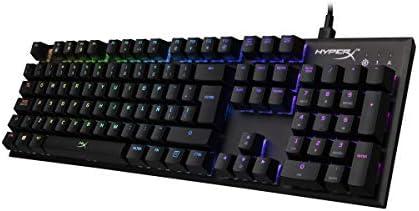 HyperX Alloy FPS RGB- Teclado Mecánico Gaming, Teclas Versión Español Latam, con interruptores Kaihl Silver Speed (Silencioso y lineal) y retroiluminación RGB - (HX-KB1SS2-LA) 4