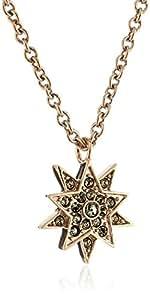 Dyrberg/Kern 336173 - Collar de acero inoxidable con cristal swarovski