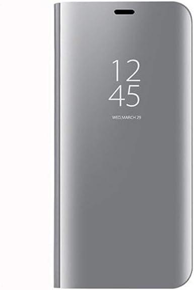 Coque compatible avec Samsung Galaxy J7 2017 PC Miroir Flip 360° Protection Intégrale Etanche Ultra Mince Anti-Rayures Anti-Choc Galaxy J5 2017 Housse ...